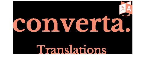Converta Translations